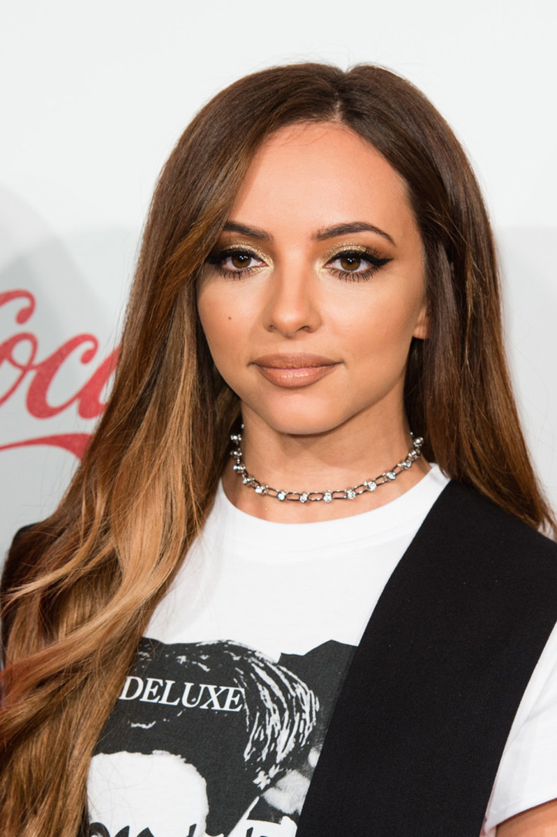 Jade Thirlwall in London in December 2016 during an event called the Jingle Bell Ball.