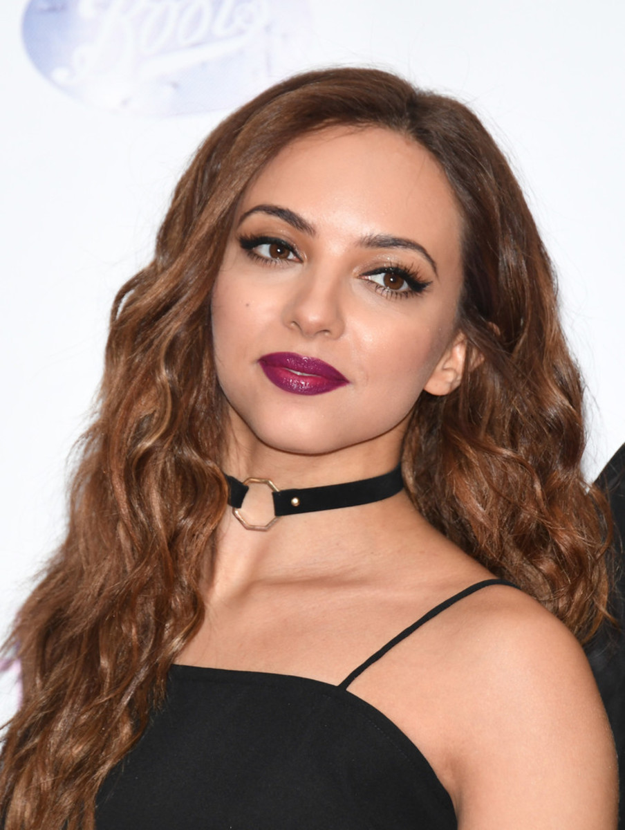 Jade Thirlwall is seen here as the group Little Mix were at an event to launch their new fragrance product at that time called Wishmaker in England in July 2016.