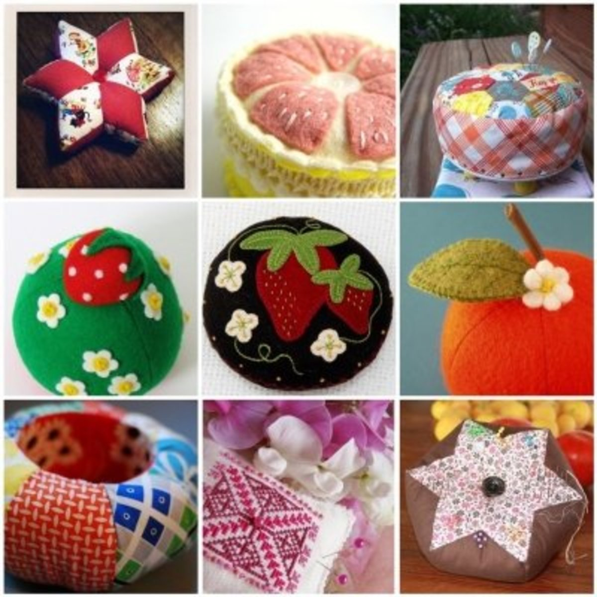Adorable Handmade Pincushions