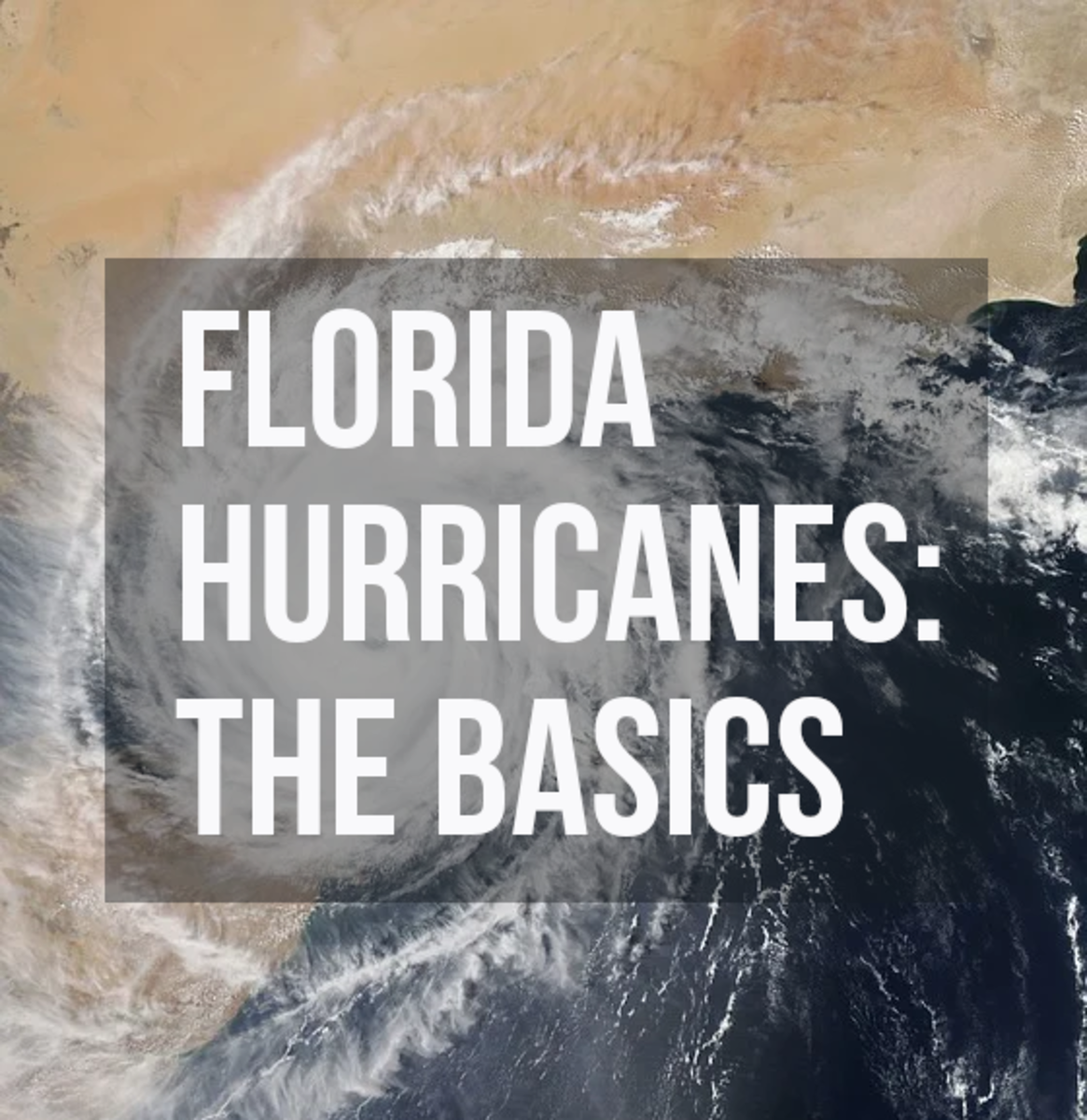 It's important to know some hurricane basics before deciding whether to live in Florida (and where to live in Florida).