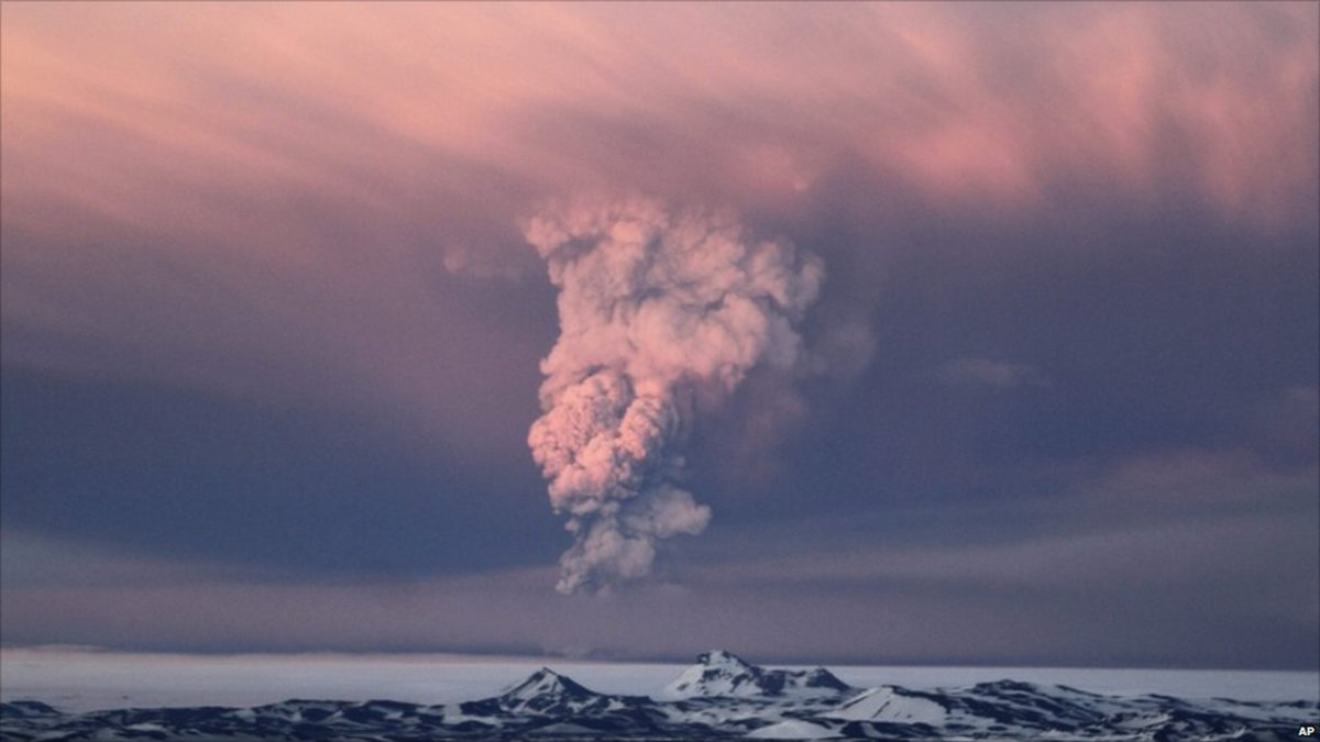 Active Volcanoes Iceland