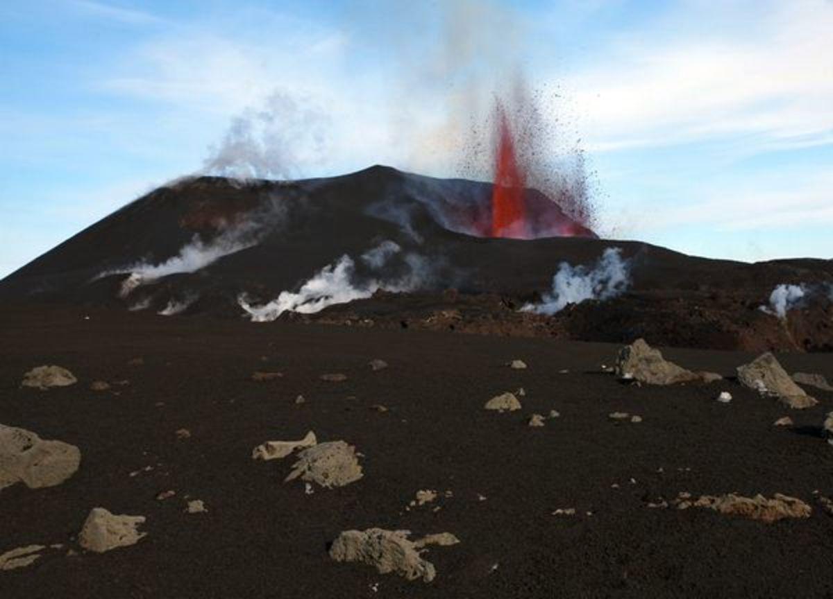 Eyafjallajokull volcanic eruption 2010, Iceland