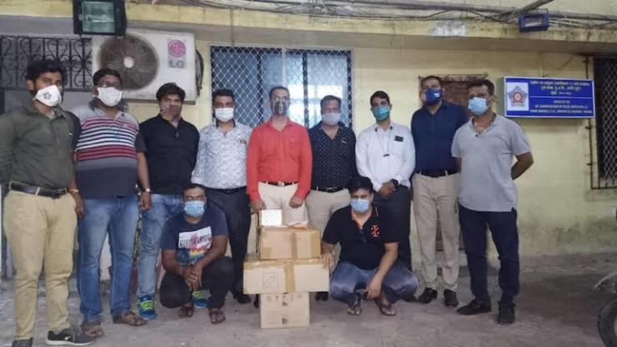 Mumbai police raid medical store to recover 285 vials of Remdesivir vaccines.