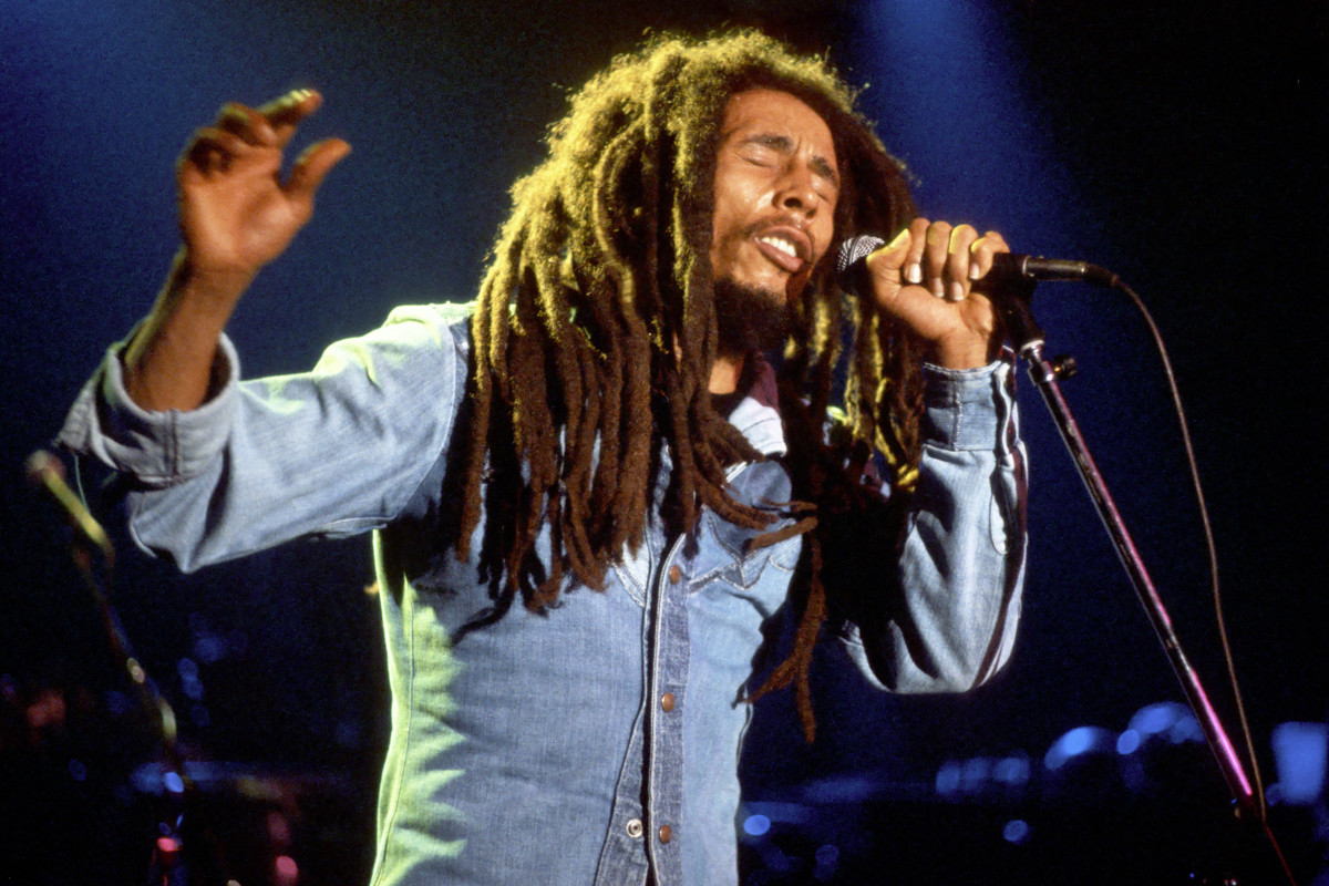 The Wailers were taken by their manager to rehearse in a cemetery to combat stage fright.