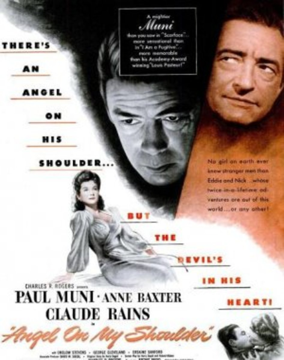Angel on my Shoulder (1946) poster