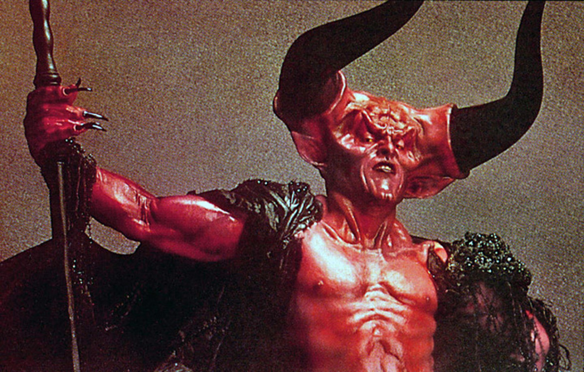 Tim Curry as the Lord of Darkness in Legend (1985)