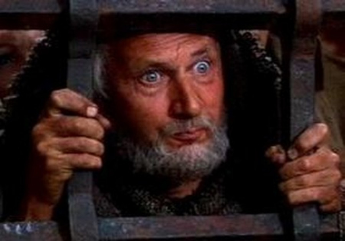 Donald Pleasance in The Greatest Story Ever Told (1965)