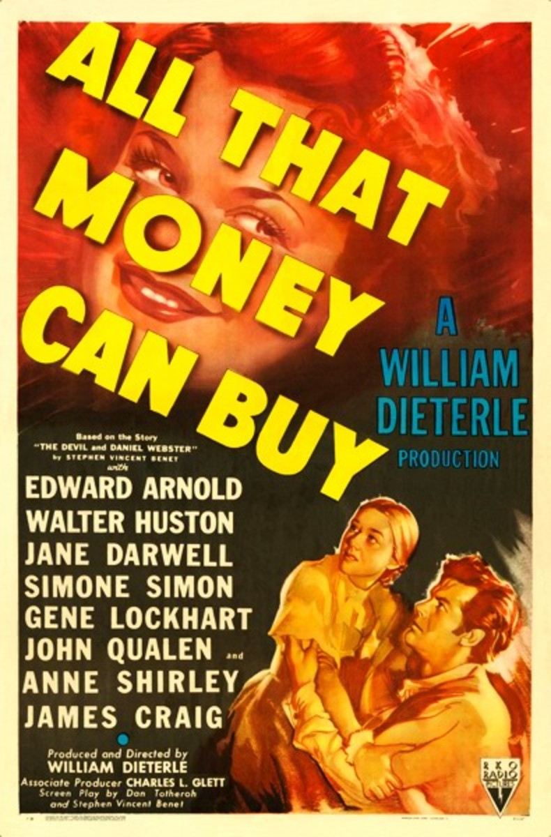 All That Money Can Buy (1941) poster