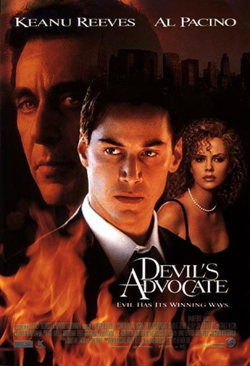 The Devil's Advocate (1997) poster