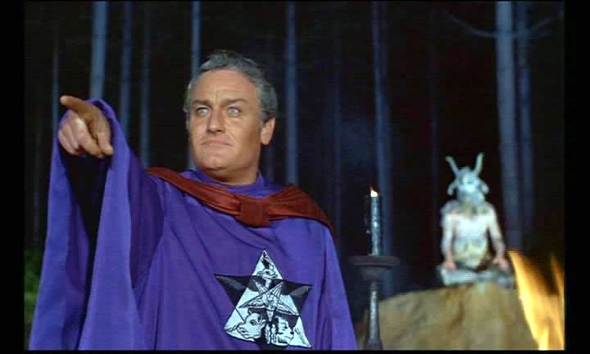 Charles Gray in The Devil Rides Out (1968)