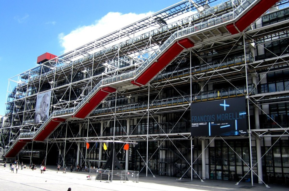 Center Georges Pompidou, Paris