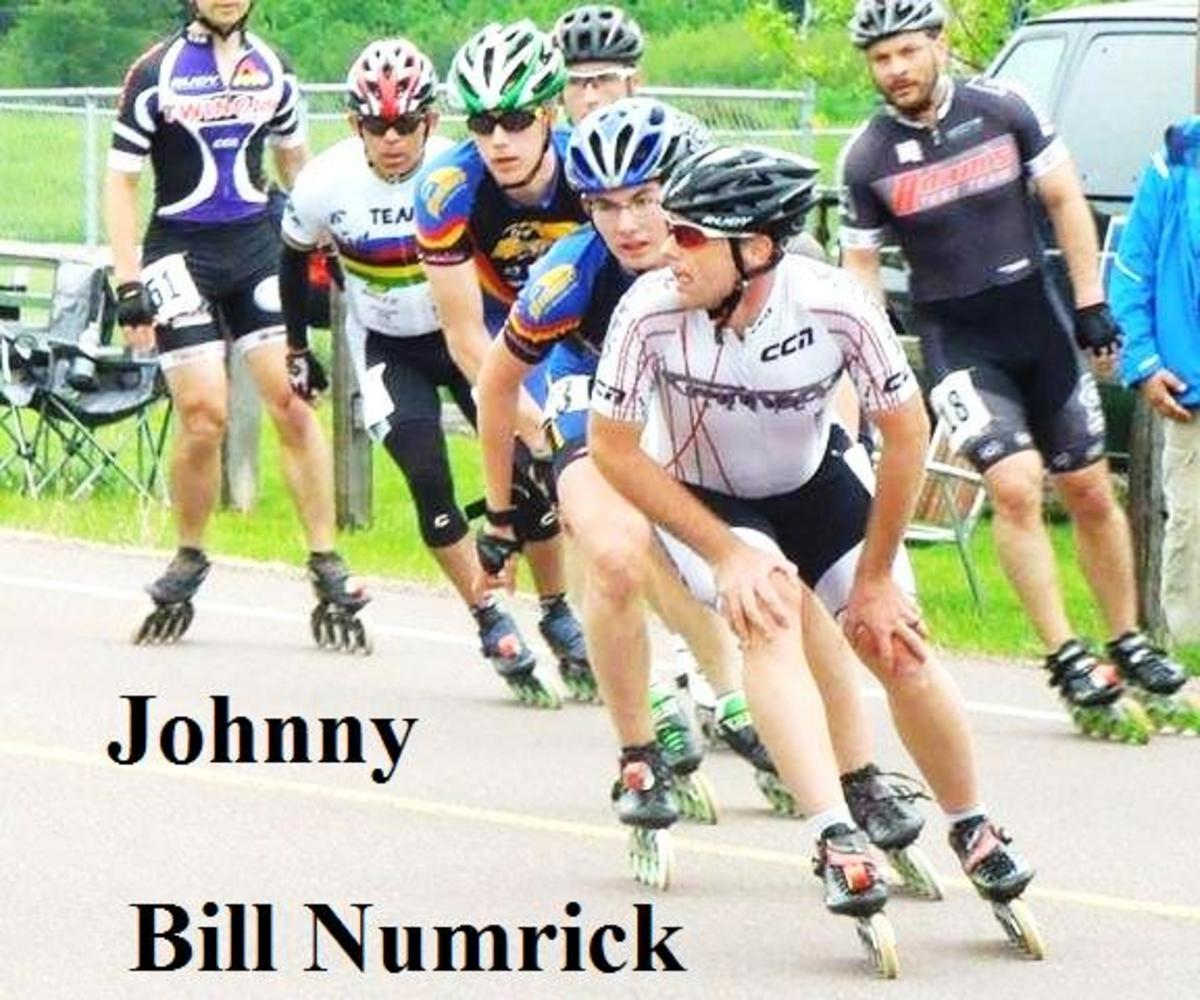 First position is Bill Numerick, second position Johnny, at the Apostle Island race in Bayfield, Wisconsin.