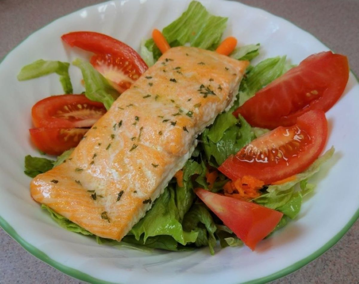 Baked Fresh Salmon, 15-Minute Meal