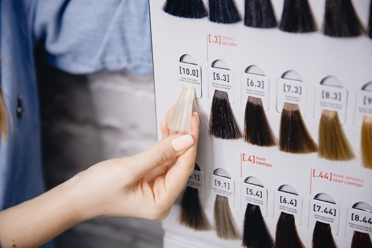 You can use toning to correct red back to a blonde shade.