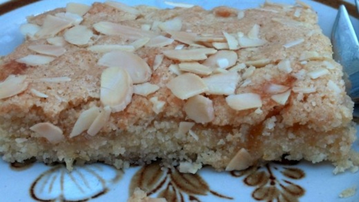 Almond slices to serve with coffee..