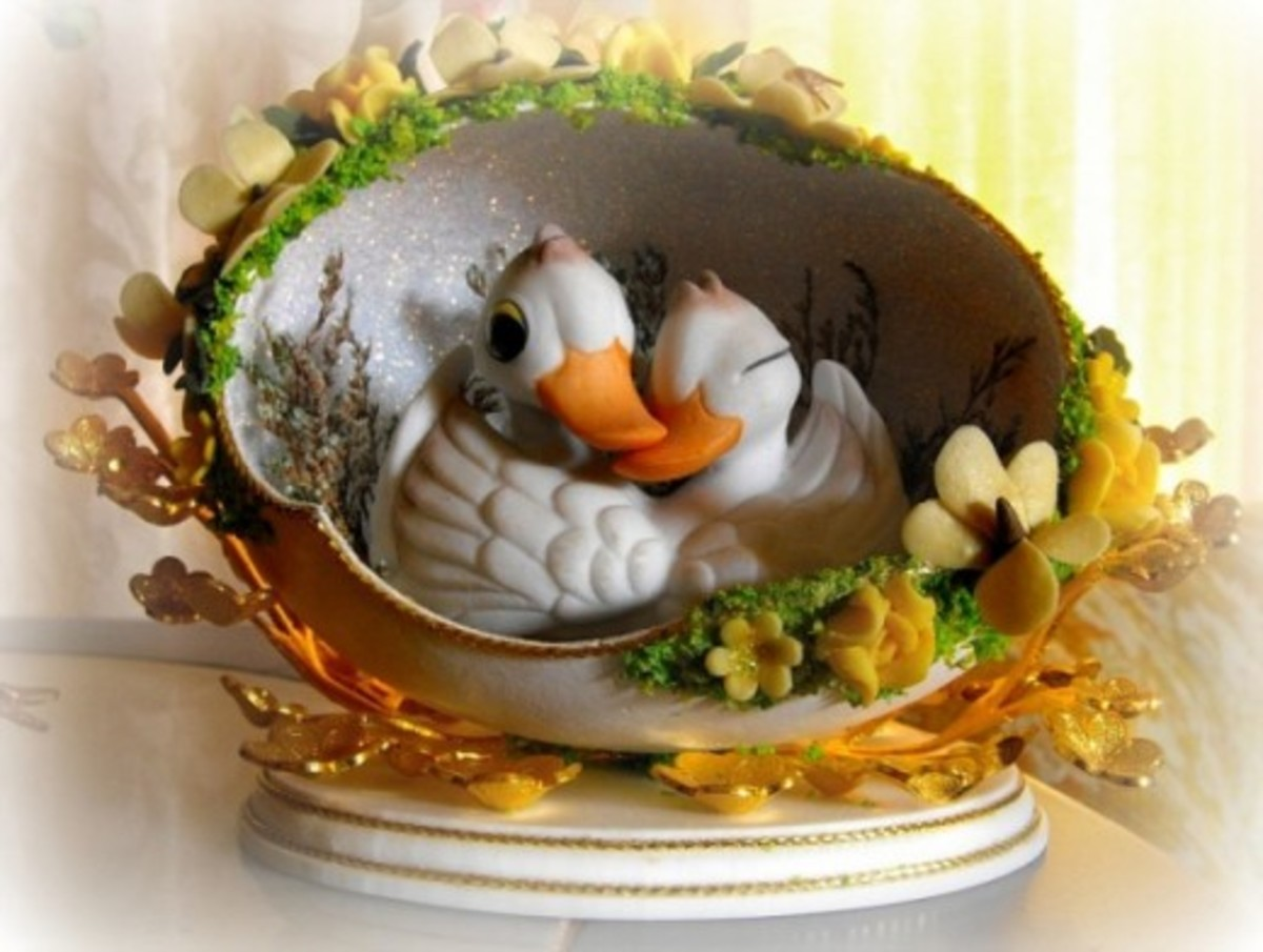 Two Ducks in An Egg