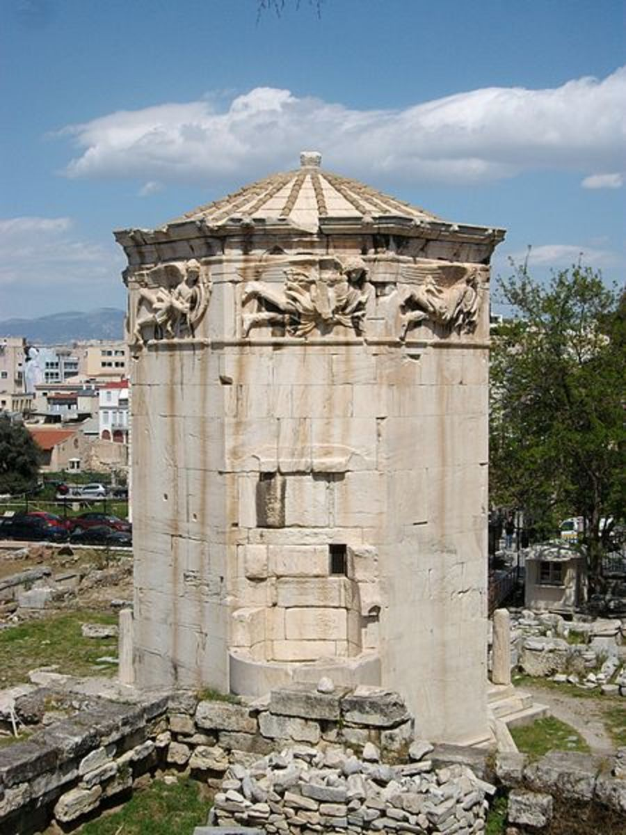 The Tower of Winds in Athens - Joanbanjo - CC-BY-SA-3.0