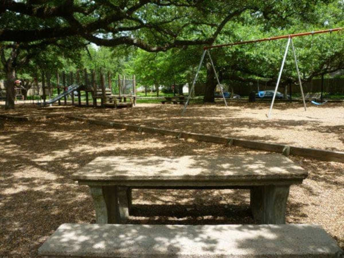 Plenty of places to picnic in the park