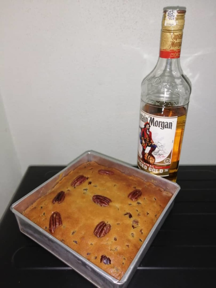 Simple and Tasty Rum Fruit Cake Recipe for Mother's Day