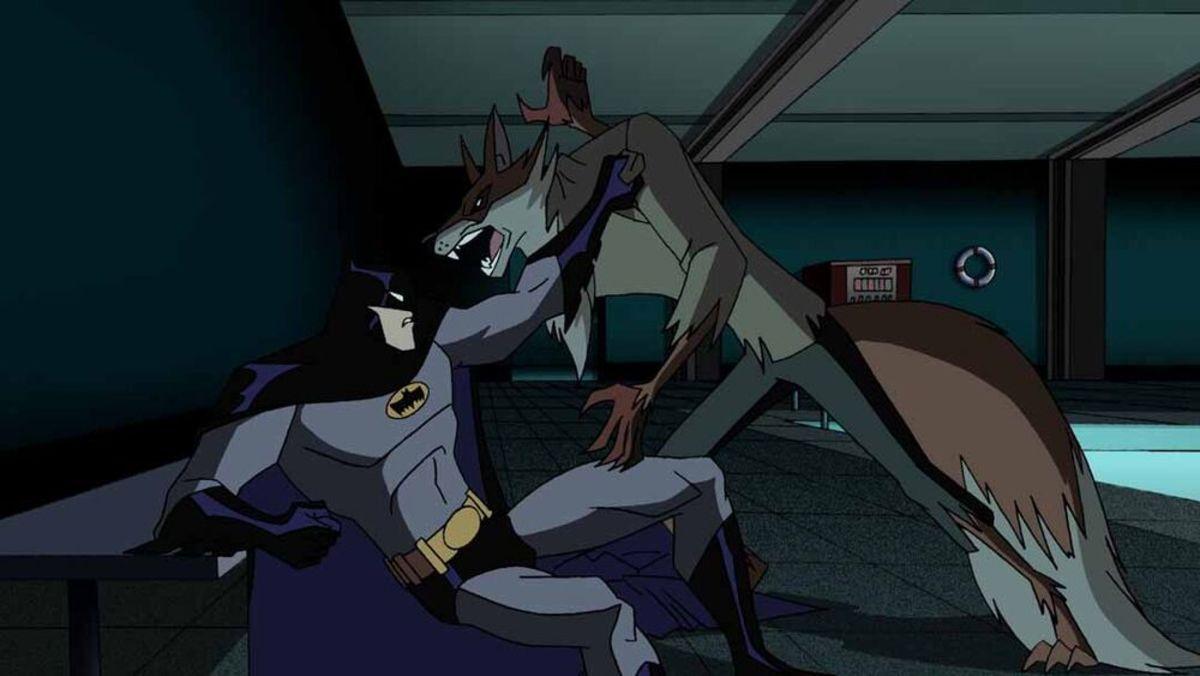 The Batman VS. the fox of the Terrible Trio.