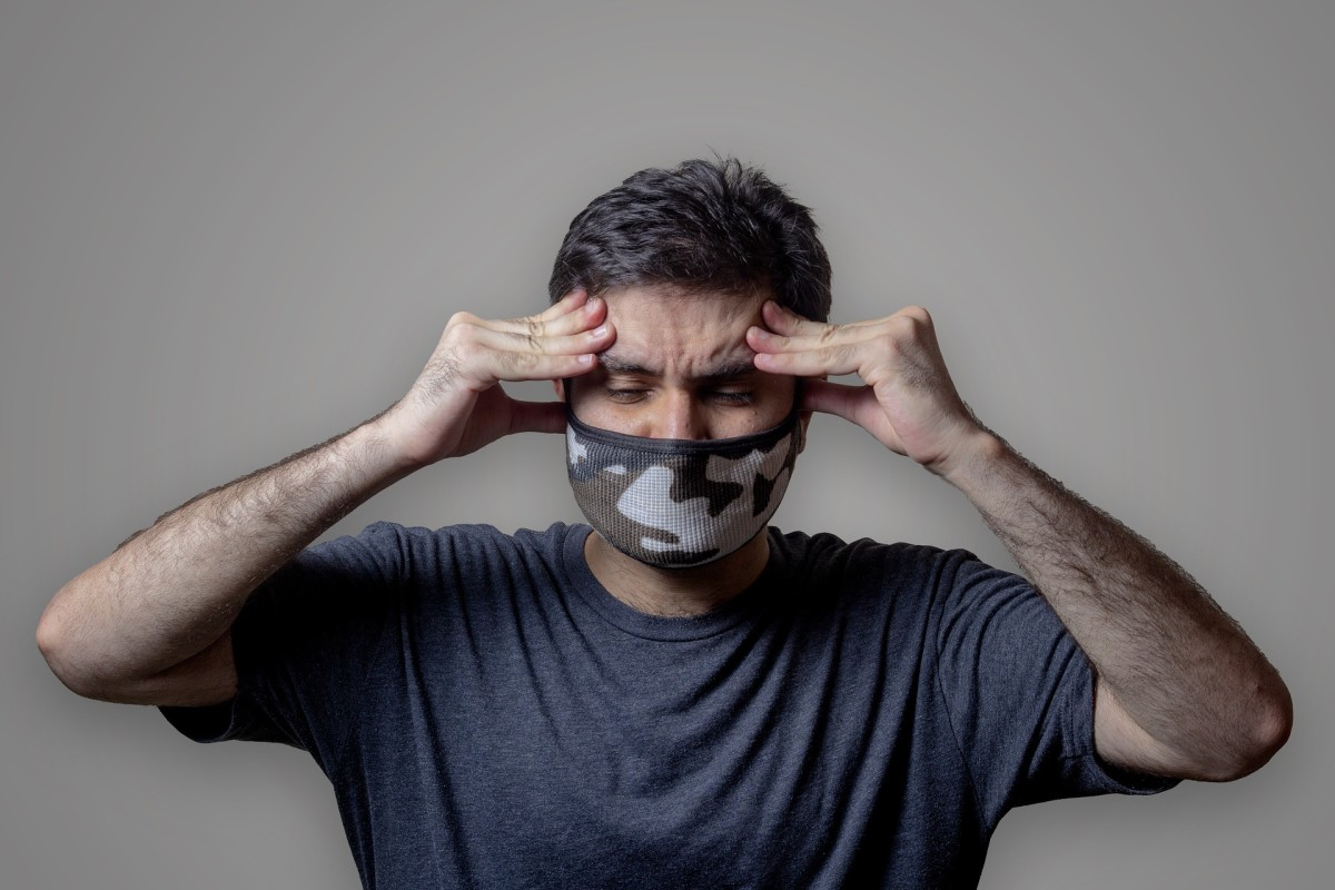 Speaking through a mask can be a frustrating experience.