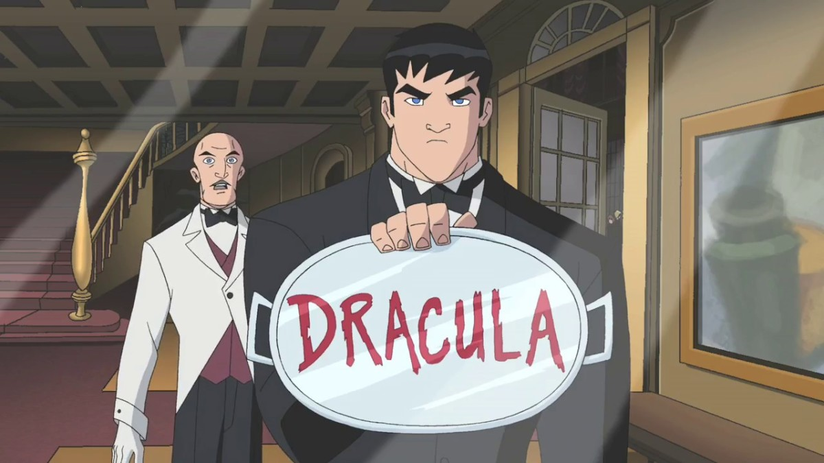 Batman discovers the existence of Count Dracula.