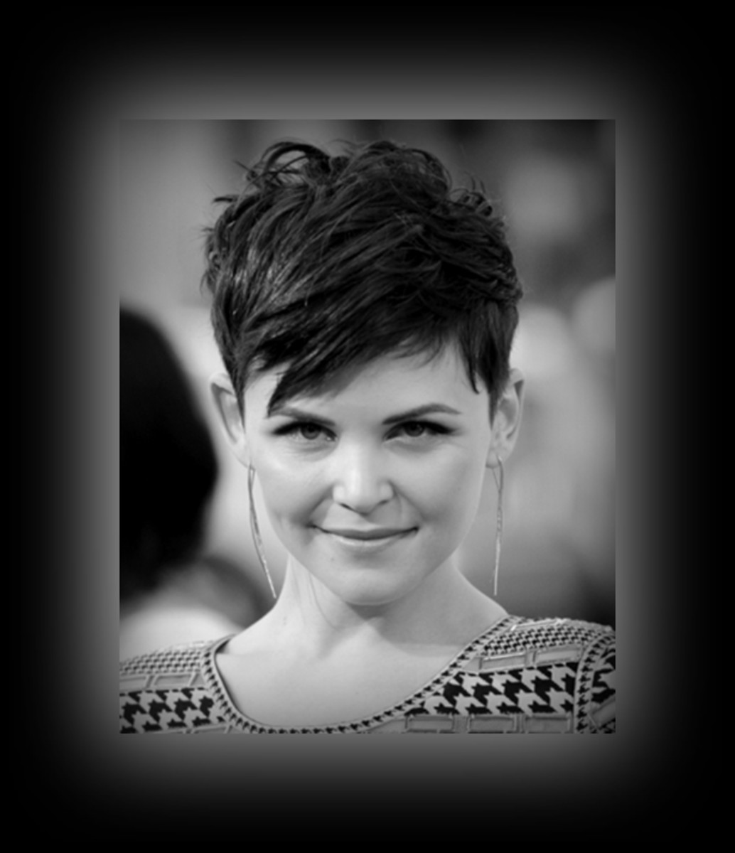 Ginnifer Goodwin - trendy - 2013 Best Celebrity Short Hairstyles Hair Cuts Trends