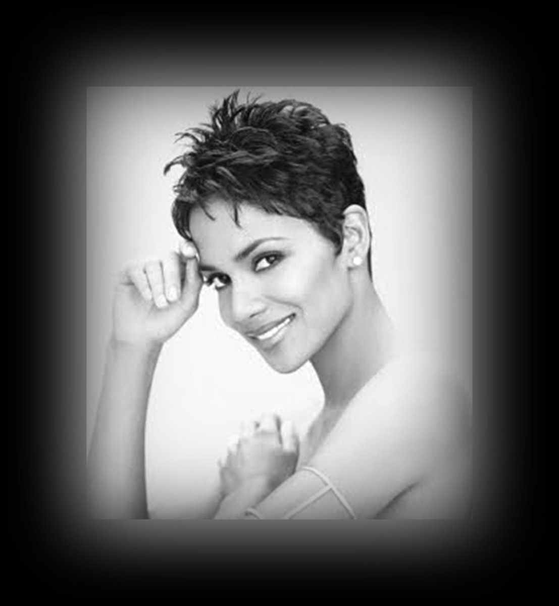 Halle Berry - 2013 Best Celebrity Short Hairstyles Hair Cuts Trends