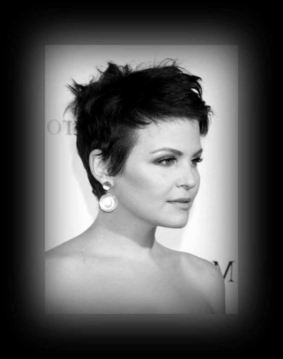 Ginnifer Goodwin - chic - 2013 Best Celebrity Short Hairstyles Hair Cuts Trends