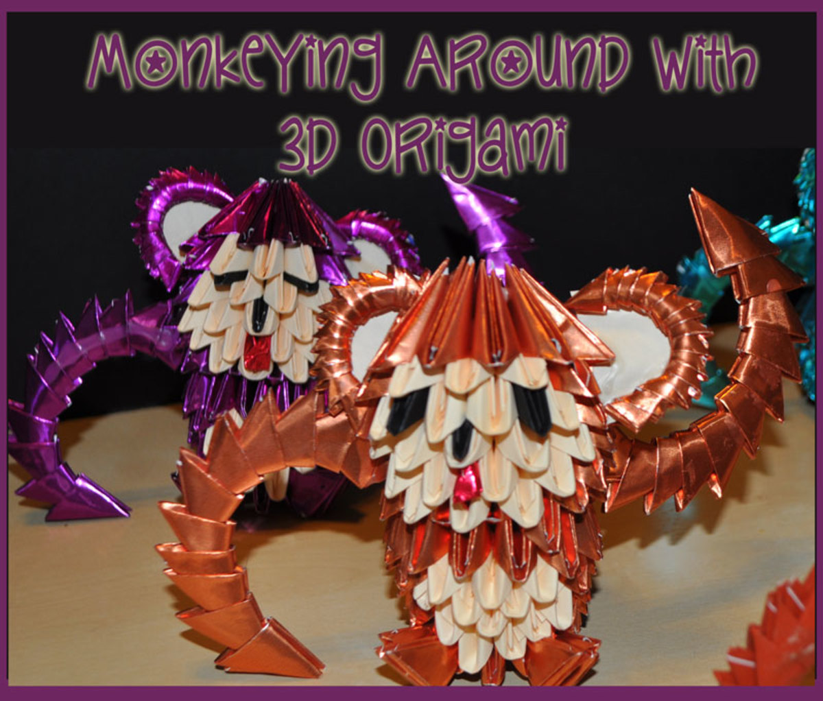 How to make 3d Origami Modules