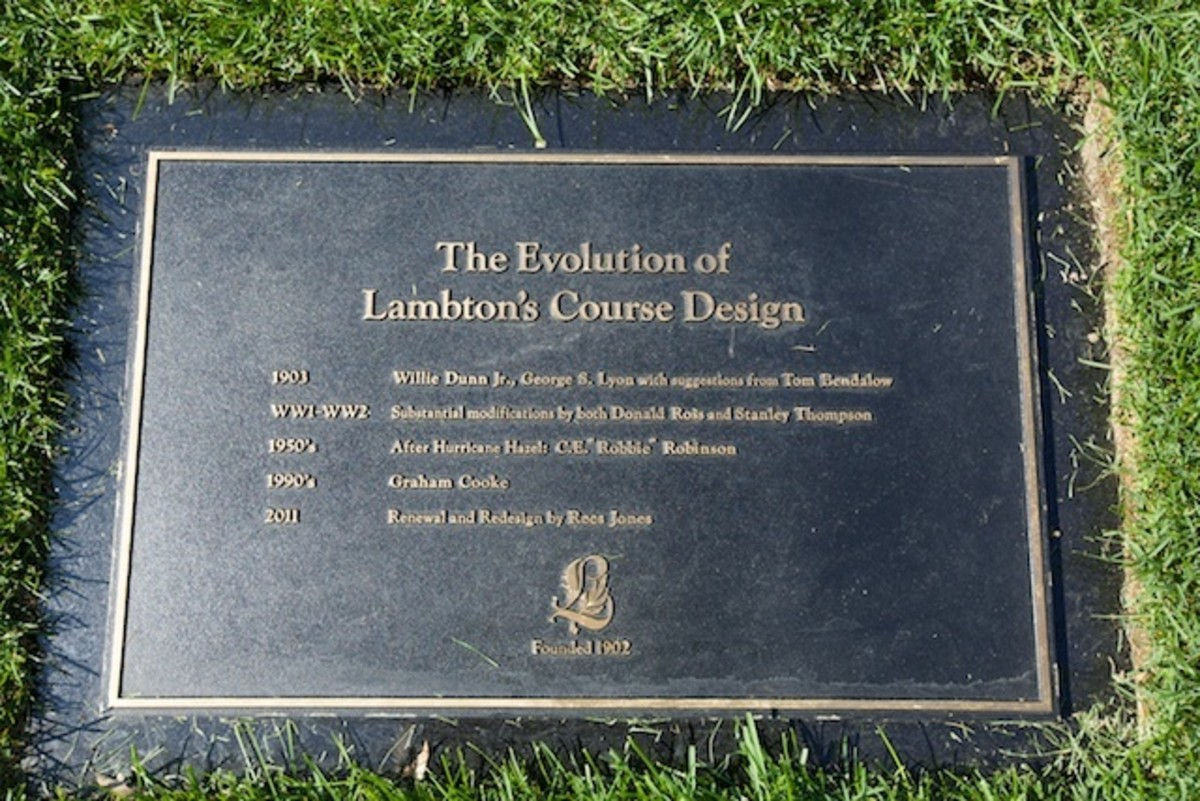 Evolution of Development Lambton Golf Course, Toronto, Canada