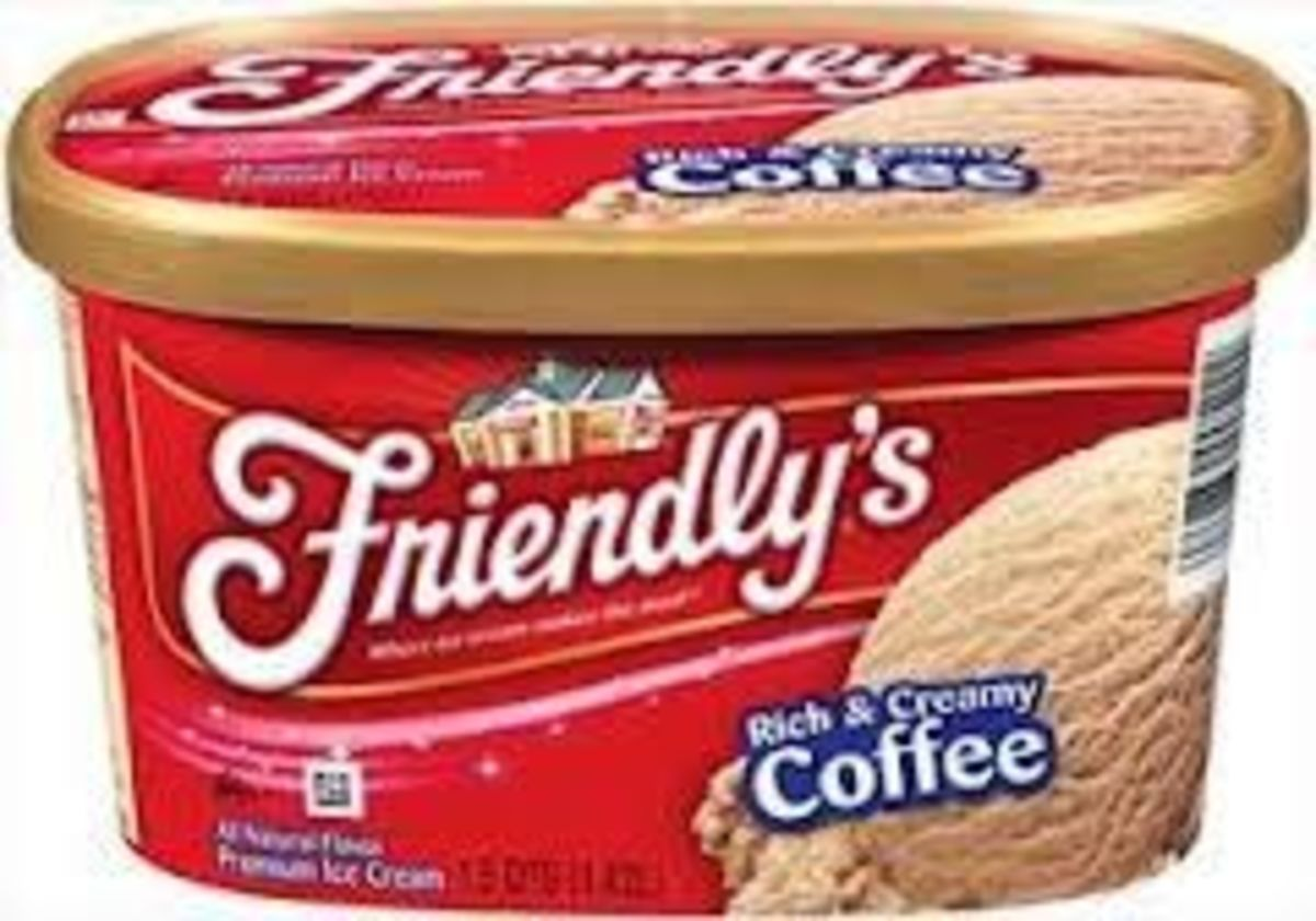 Friendly's Coffee Ice Cream