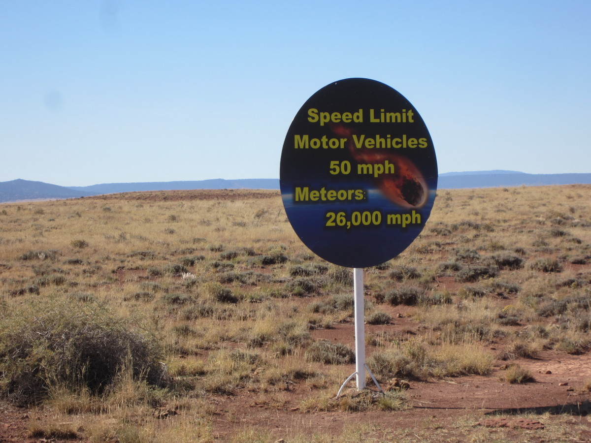 With speed limits like this, it is difficult to outrun and avoid colliding with a meteorite.