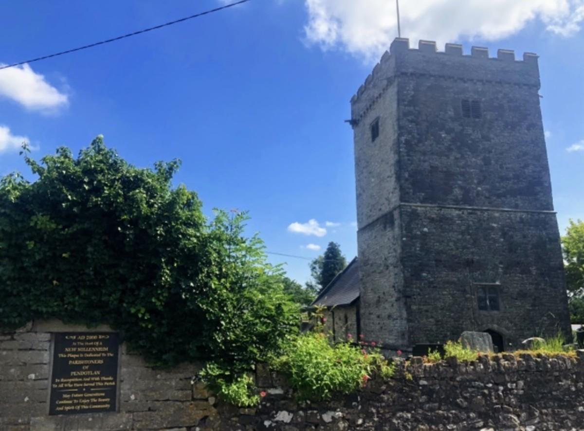 Pendoylan village church.