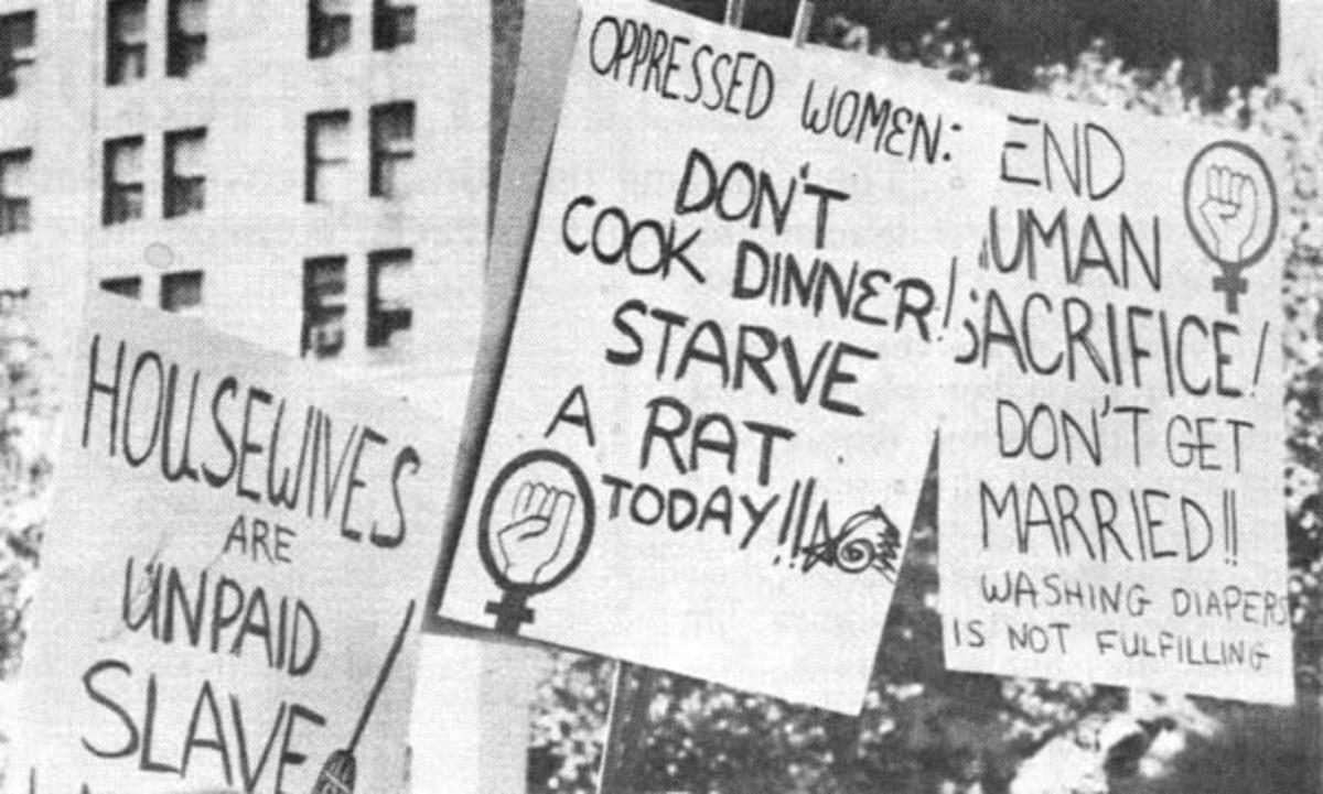 FEMINIST SIGNS