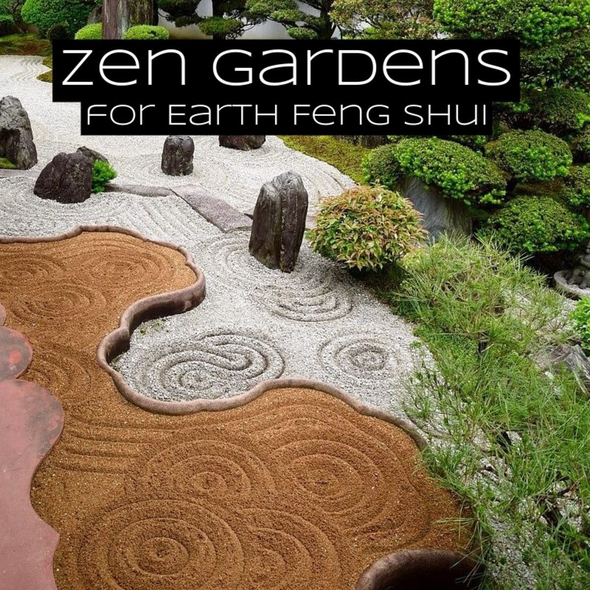 Zen gardens are meant to be places where you can relax and let your mind wander.