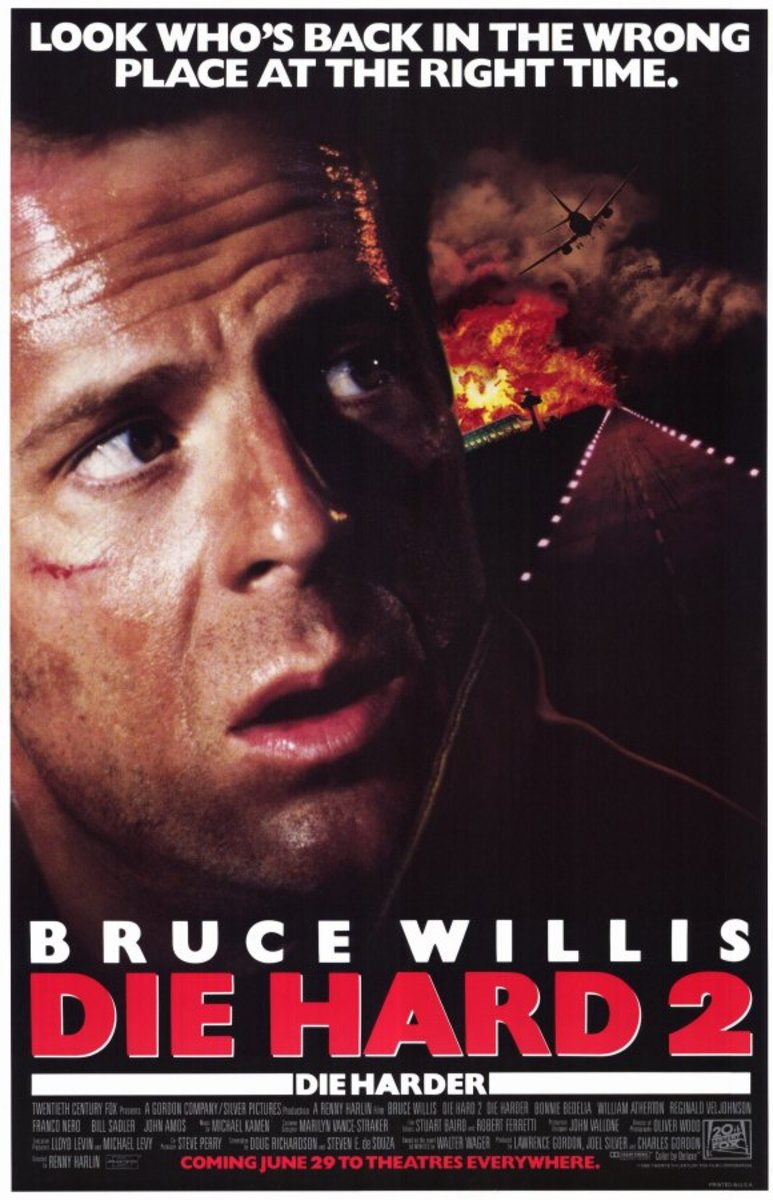 """Poster for """"Die Hard 2"""""""