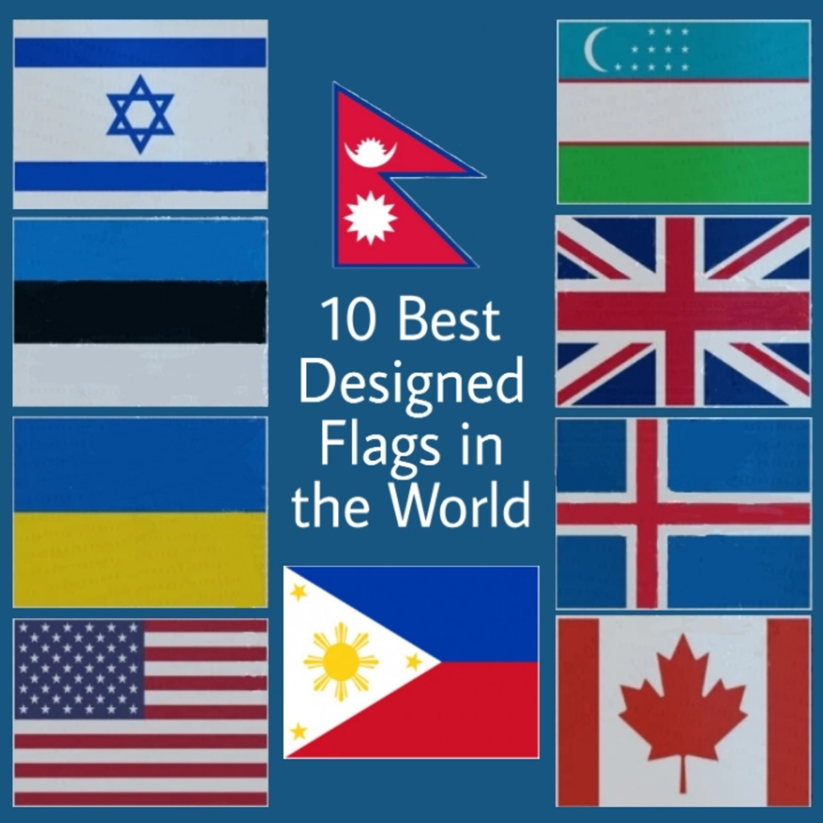 10 Best Flags in the World