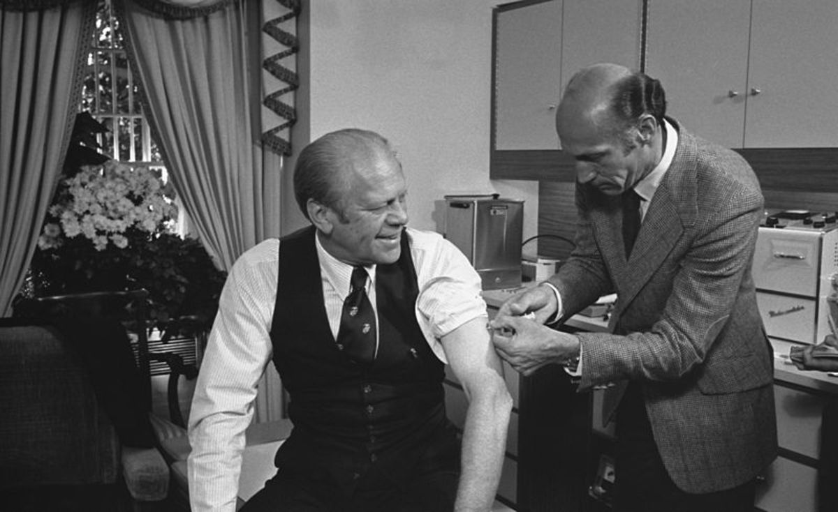 America is lucky President Ford didn't acquire Guillain Barre Syndrome (GBS) with that swine flu shot.