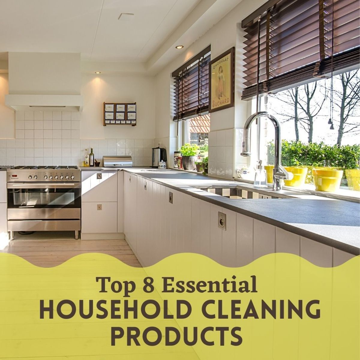 The top products you need to maintain a sparkling home