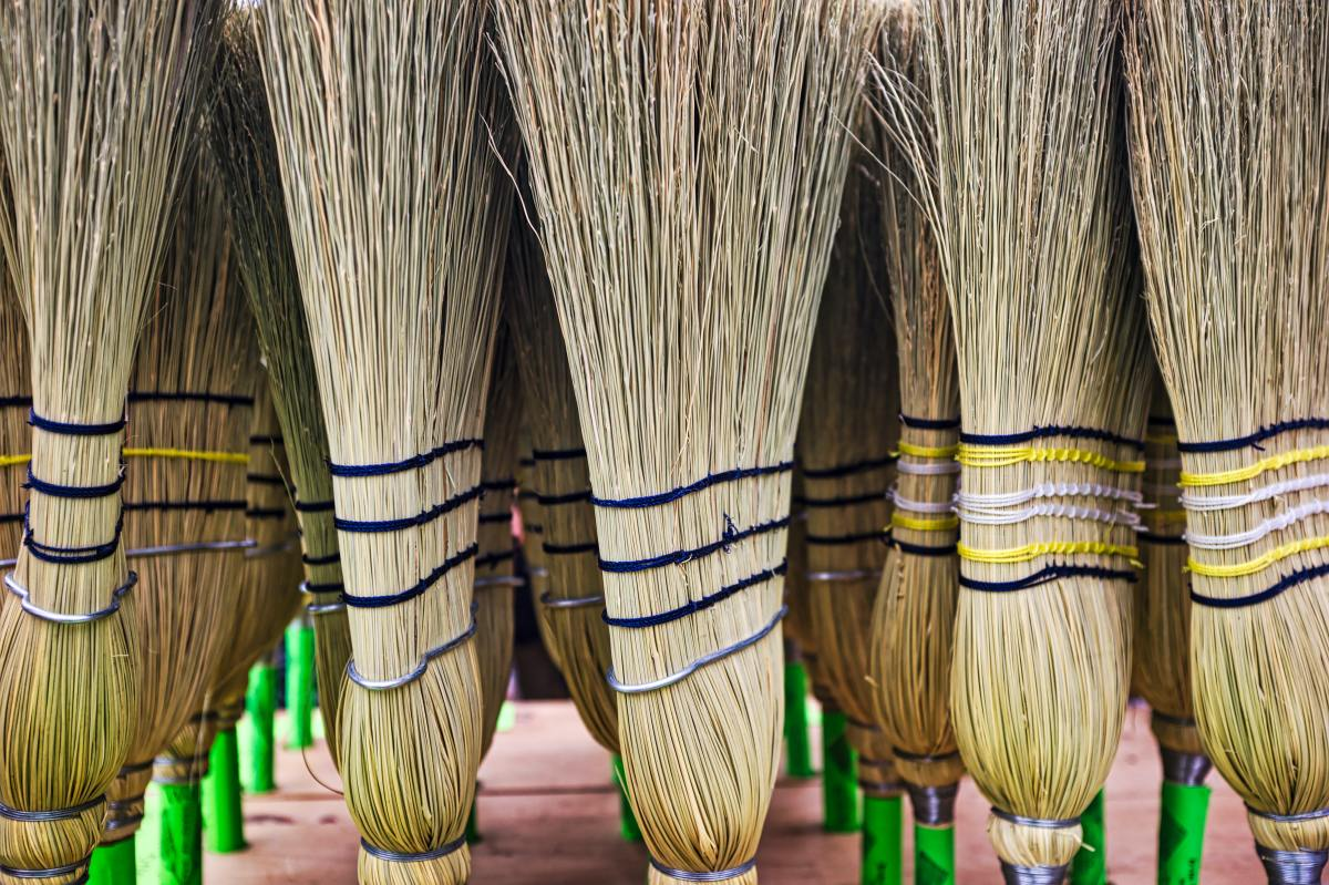 Bringing an old broom into a new space is considered bad luck by some.