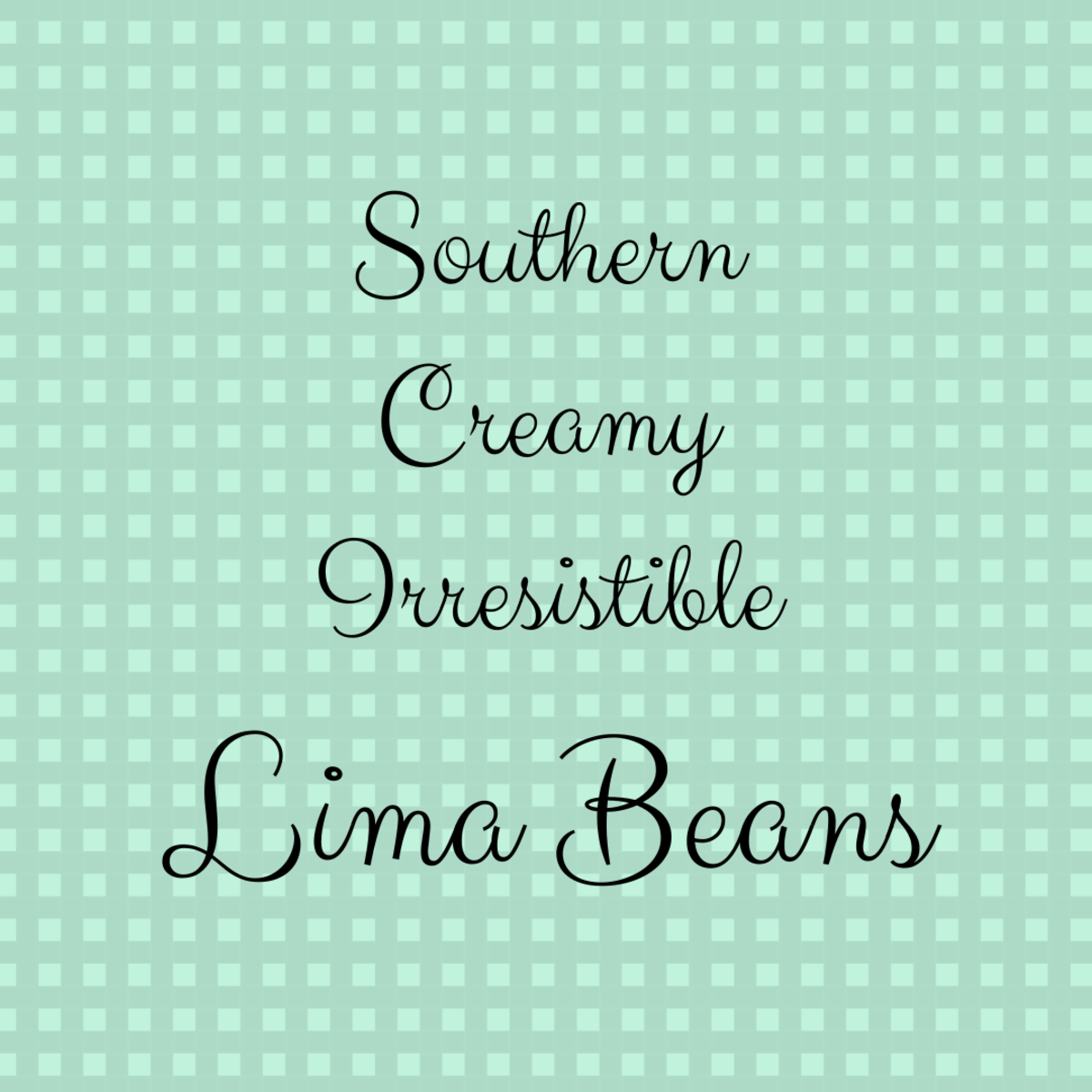 These lima beans are so easy to make . . .  but oh so big on taste!