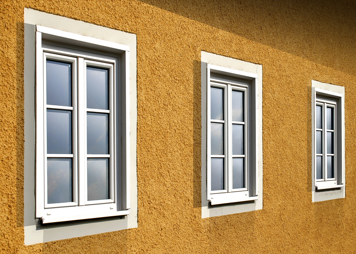 New windows are energy efficient, low maintenance and beautiful.