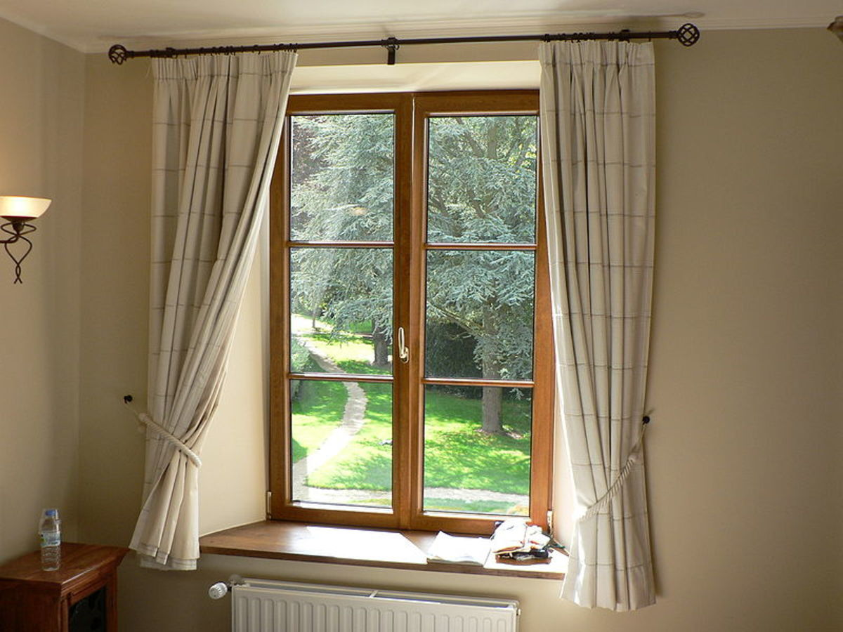 A typical casement window opens out.  Because all of the window can be open at once, it is an ideal choice of window style for letting lots of outside air into the home.