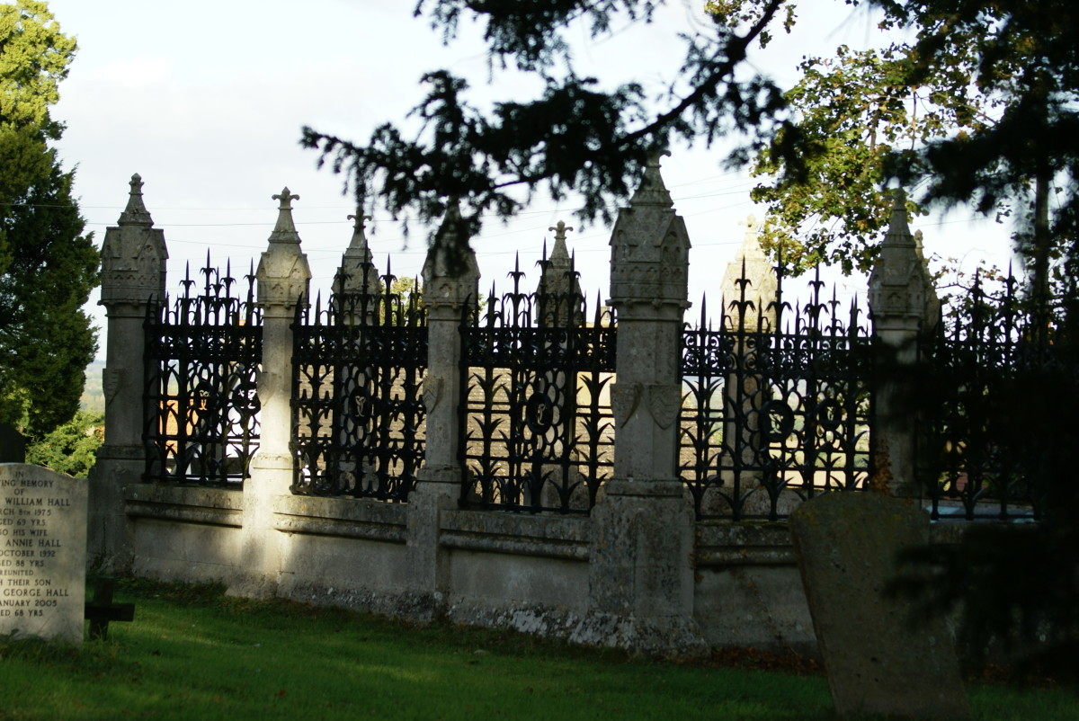 A very elaborate aristocratic family plot