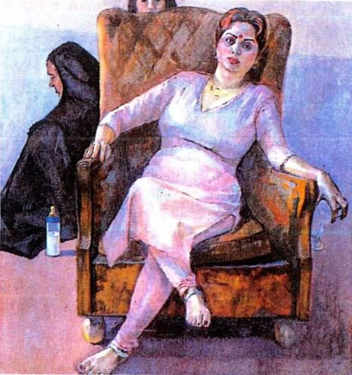 Iqbal Hussain's portraits of the Prostitutes of Lahore...