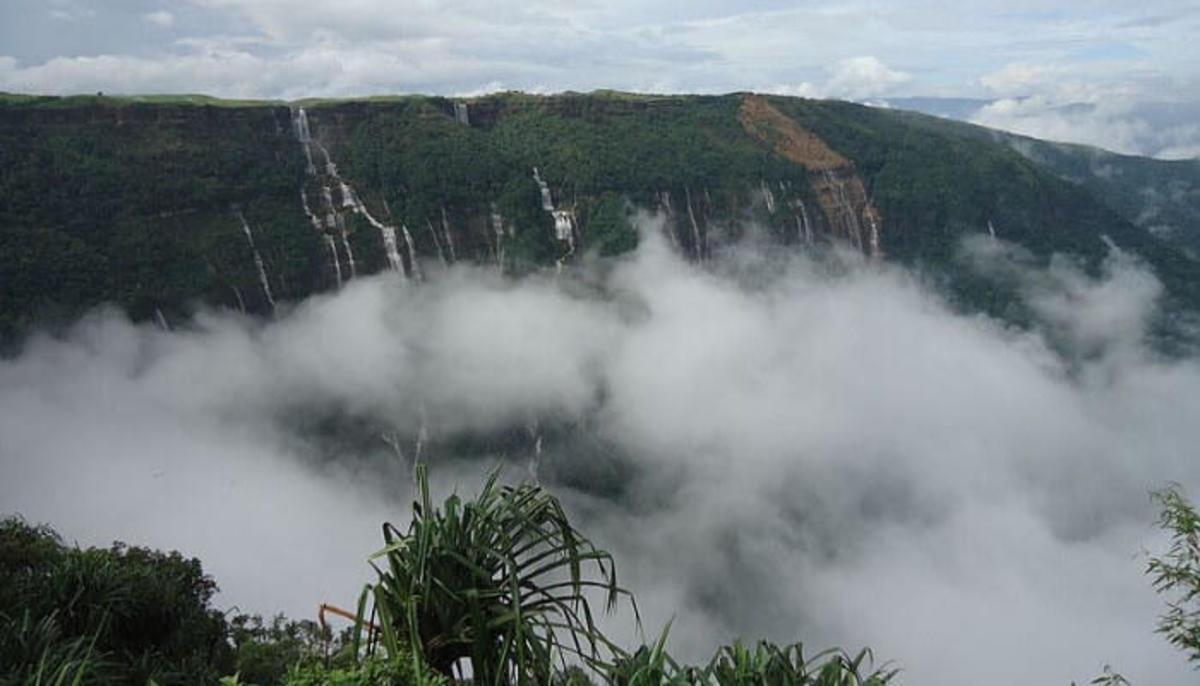 Seven Sisters Waterfall, Cherrapunji
