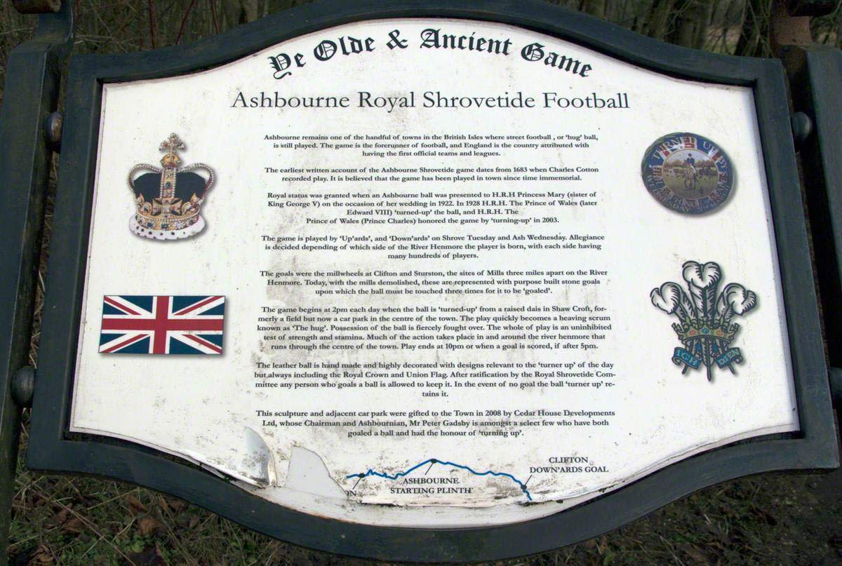 Ashbourne Ancient Football Game