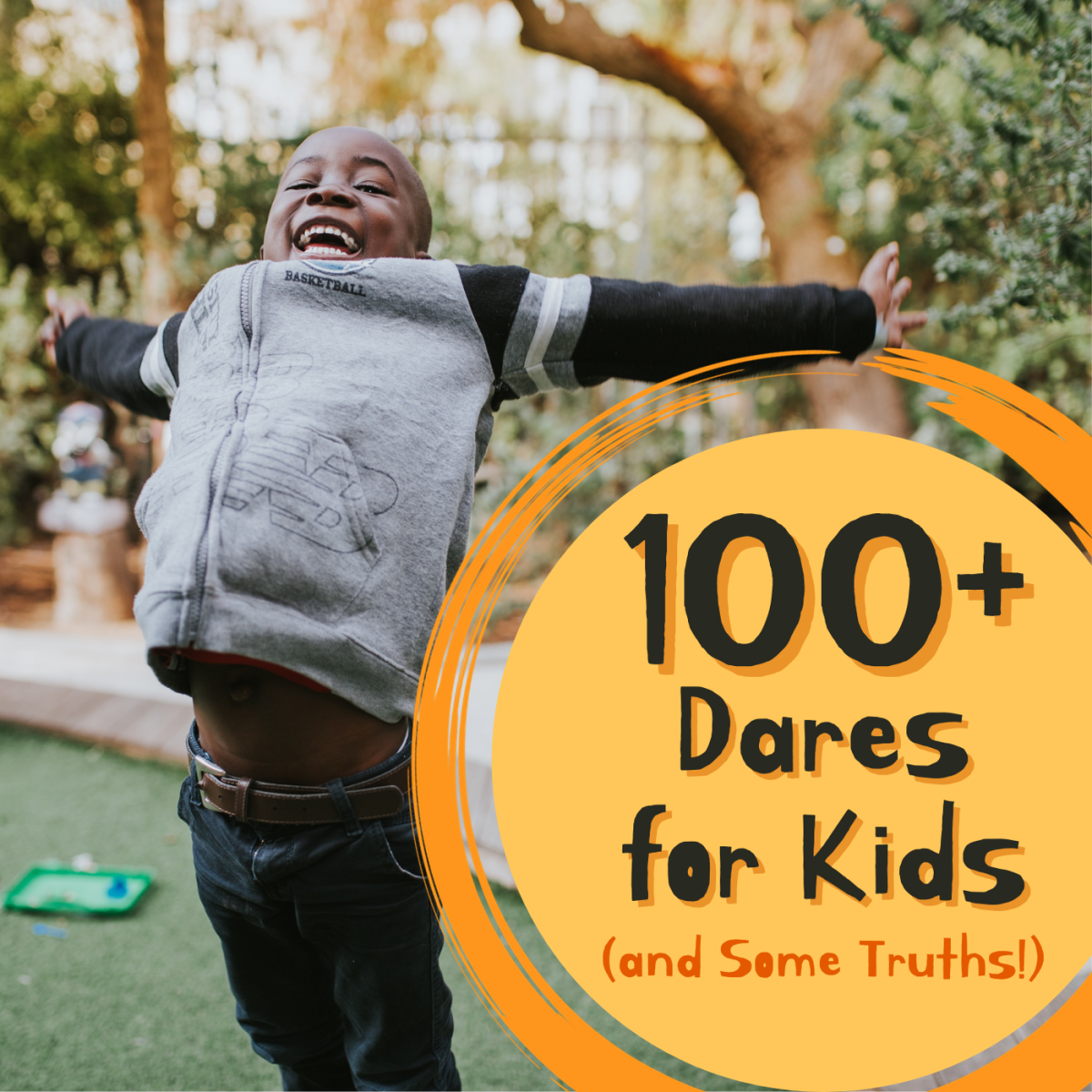 Make your next family game night more exciting (and hilarious) by playing Truth or Dare! It's easy to play a kid-friendly version of this game if you prepare the dares and truths ahead of time, and we've got 100+ ideas for you!