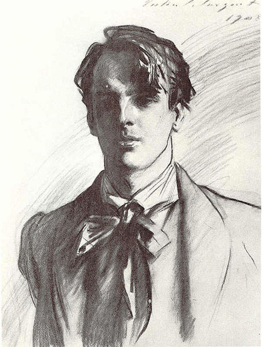 Drawing of William Butler Yeats